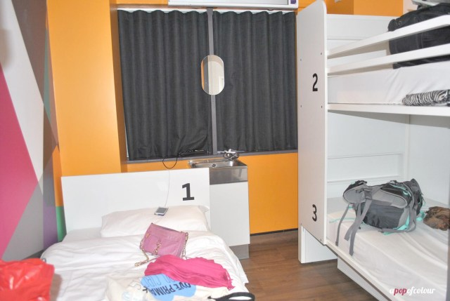Three person private room