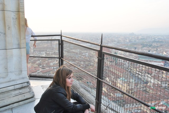 Me at the top of the duomo