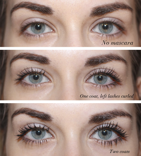 5f34a0bc496 It features a tapered brush with a very flexible wand, so you can cover  every single lash. It seems like the big difference is that this one is  darker.