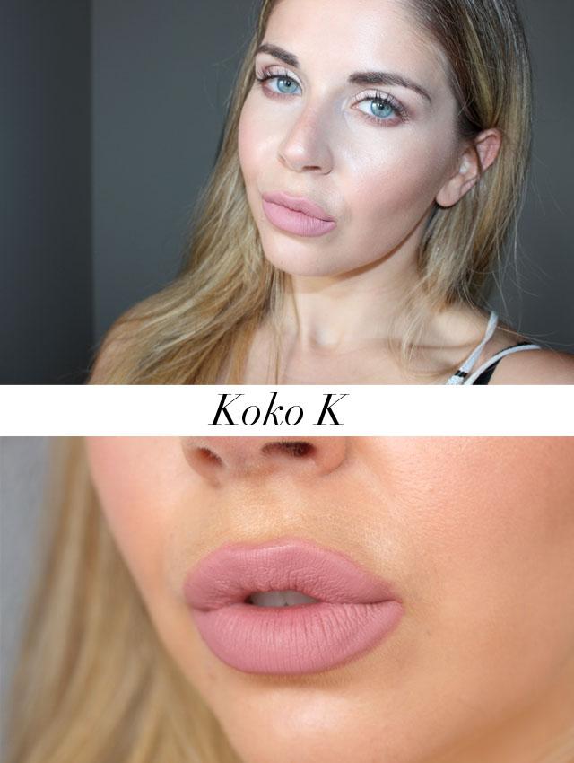 Big Lips: Kylie Cosmetics Lip Kit In Koko K
