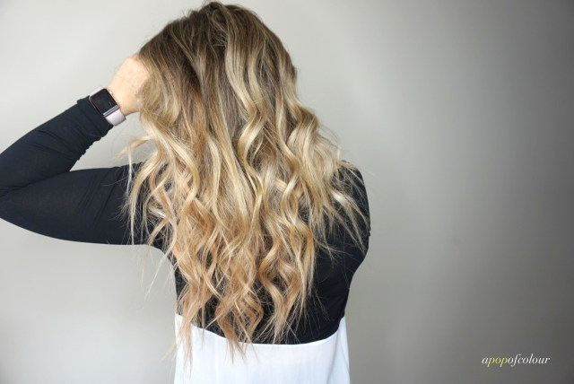 Ombre blonde hair using Joico Blonde Life