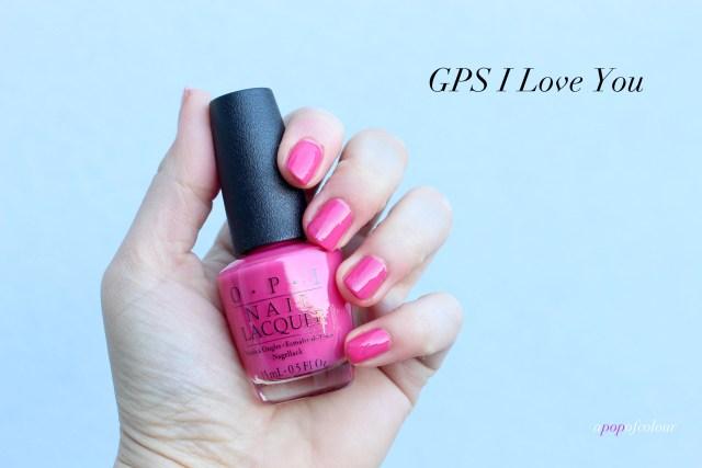 OPI GPS I Love You