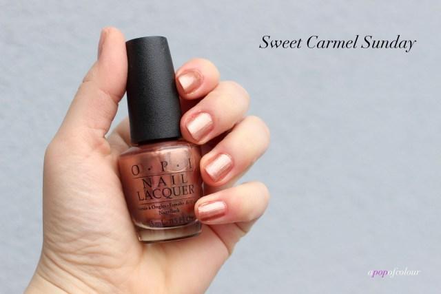 OPI Sweet Carmel Sunday