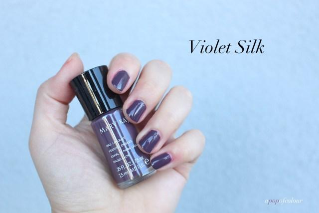Mary Kay nail polish in Violet Silk