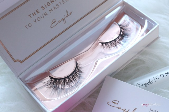 Esqido mink lashes in Lash Named Desire.