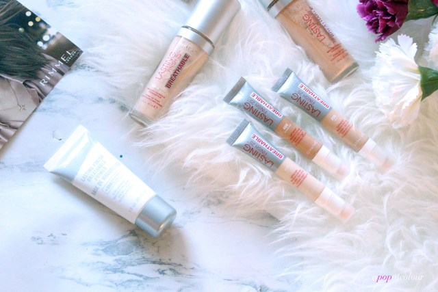 Rimmel London Lasting Finish Breathable concealers and primer