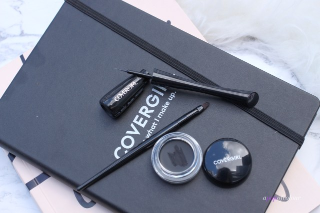 CoverGirl new gel and liquid liners