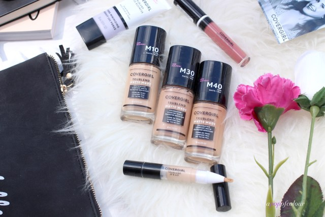 CoverGirl Tru Blend Matte Made foundations