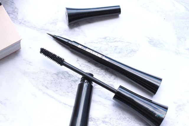 IT Cosmetics Superhero Mascara and liner