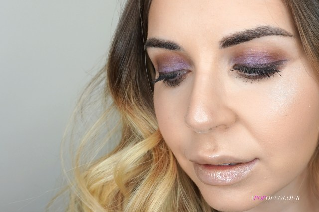 See-Quins Glam Glitter Eyeshadow in Glamethyst