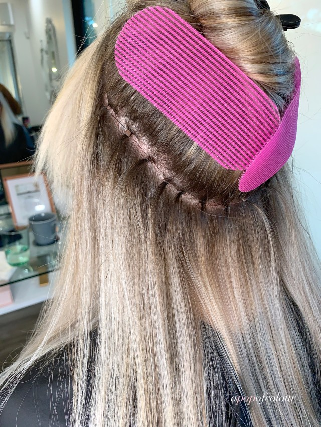 Philocaly Hair Hand-Tied extensions beading method