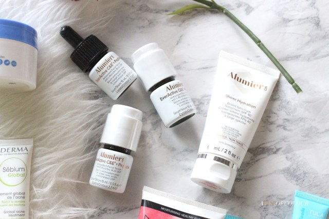 Alumier MD skincare products