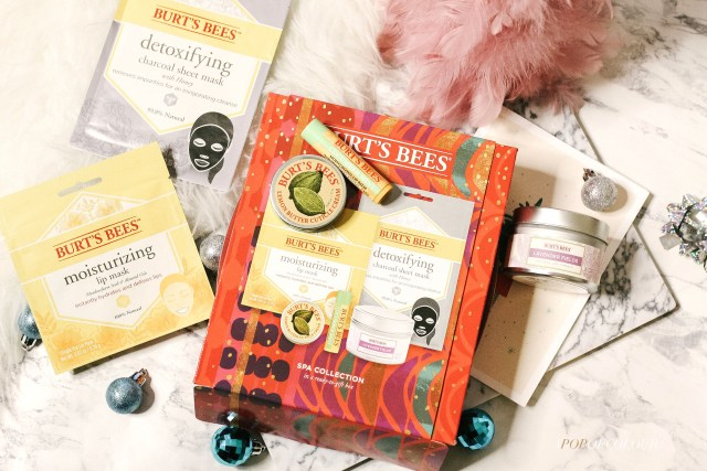 Burt's Bees Spa Collection for holidays 2019
