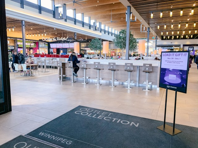 Outlet Collection of Winnipeg food court