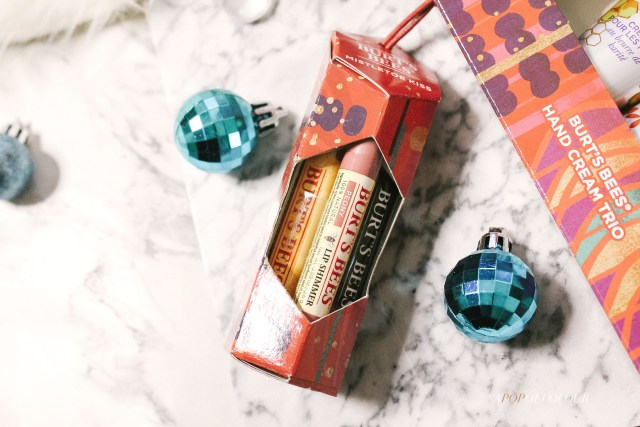 Burt's Bees Mistletoe Kiss Set for holidays 2019