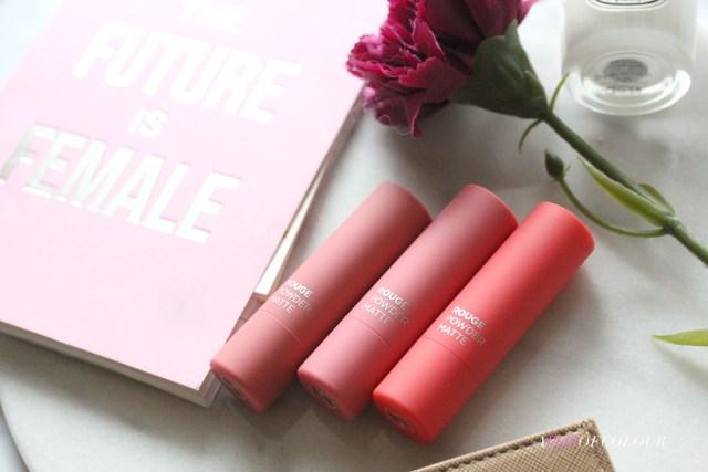 Avon Rouge Powder Matte Lipsticks