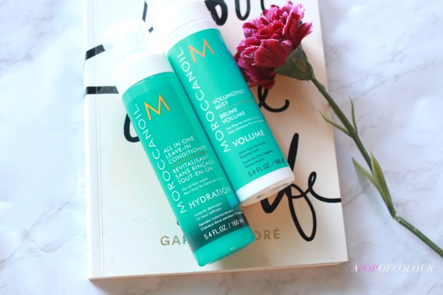 Moroccanoil Volumizing Mist and All-in-One Leave-In Conditioner
