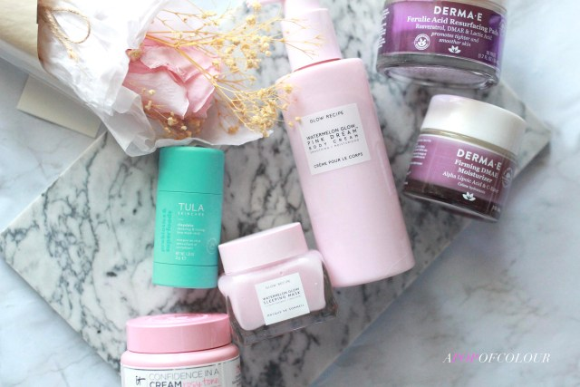 Skincare to try in March 2021 from Glow Recipe, DermaE, Tula, and IT Cosmetics
