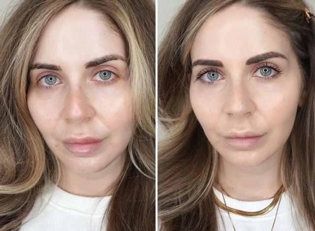 Swatches of Fenty Beauty Eaze Drop Blurring Skin Tint