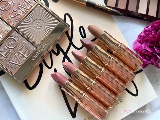 Charlotte Tilbury Super Nudes lipsticks