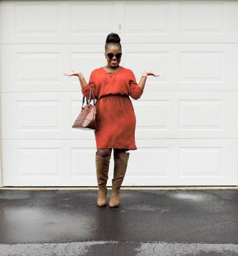 fall style 2017 women, fall style 2017 casual, fall looks for women, fall fashion 2017, fall fashion 2017 casual, fall fashion trends 2017, protective styles for natural hair, protective style for natural hair easy, stylish mom outfits fall, stylish moms outfits, mom fashion fall, millenials mom style, millenial moms fashion, knee high boots fall outfit, knee high boots heels outfit, how to wear knee high boots outfit, pleated skirt and boots, knee high boots and jeans black