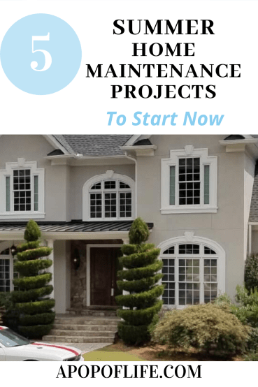 home improvement projects, home improvement projects on a budget, summer house projects, summer proof your house, summer maintenance checklist, summer maintenance tips, summer home maintenance checklist, summer home tips, old home renovation, homeowner tips, home ownership first time, new homeowner checklist