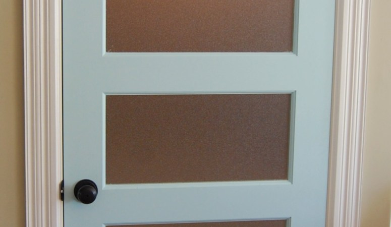 Smitten: My New Turquoise Door