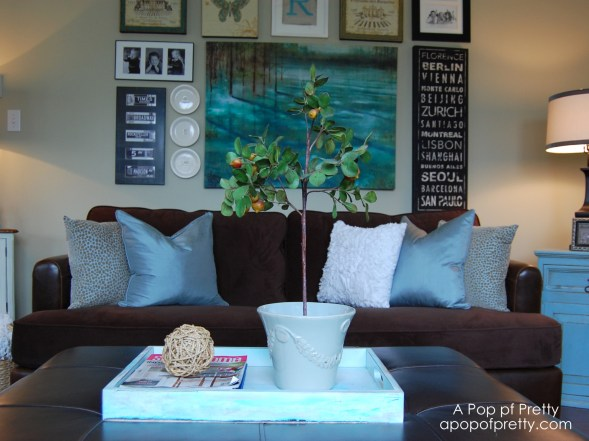 living room gallery wall makeover a pop of pretty blog canadian home decorating blog st