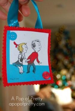 Dr Seuss Christmas Ornaments