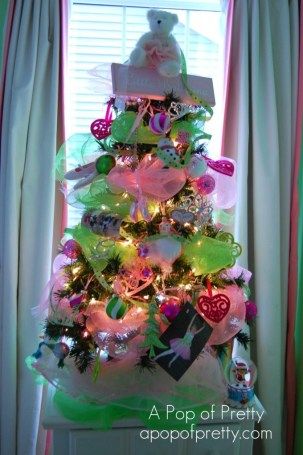 Ballerina Christmas Tree Decor