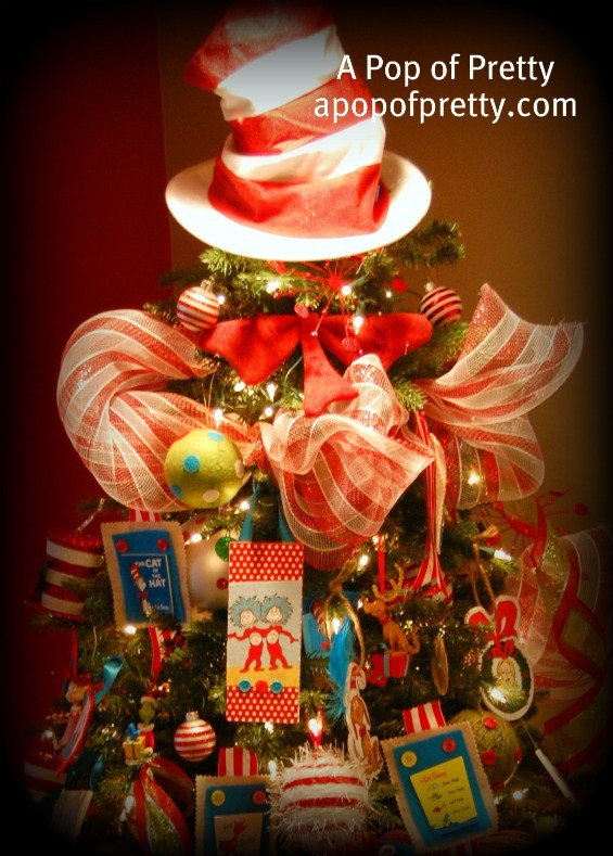 My Dr. Seuss Christmas Tree! - A Pop of Pretty Blog (Canadian Home ...