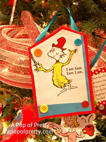 how to make Dr. Seuss Decorations