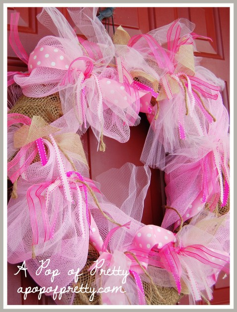 Valentines ideas for a wreath