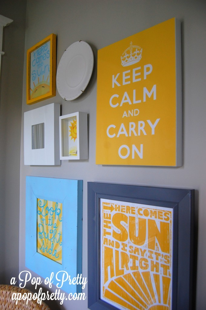 Inspirational front porch wall decor