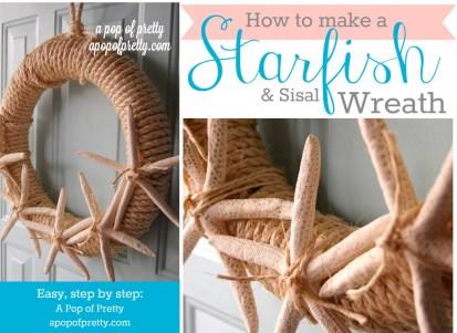 Starfish Wreath how to make