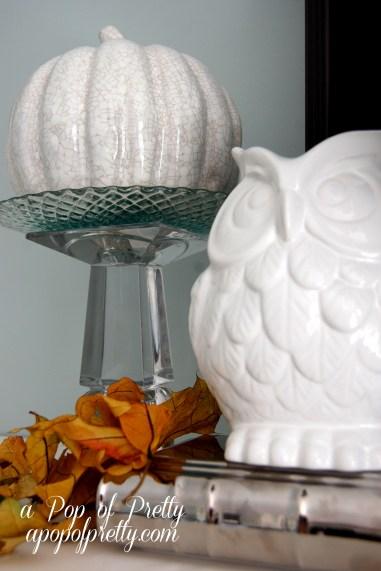 owl Fall decor