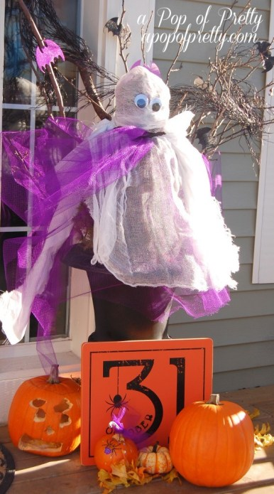 Ghost urns Halloween Decorating