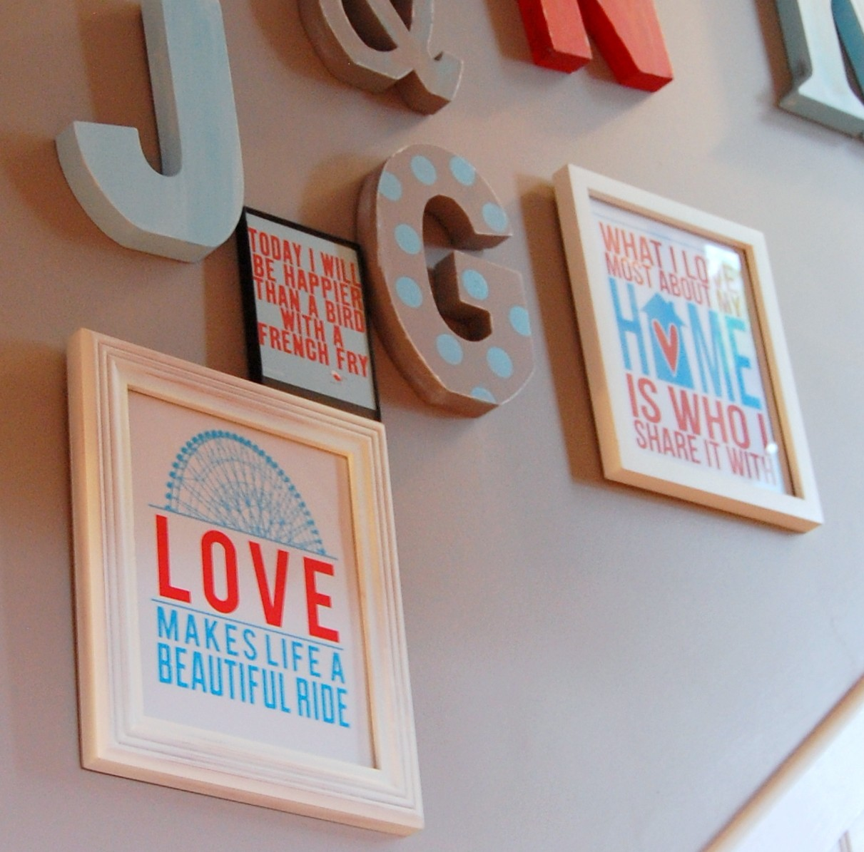 Do It Yourself Home Decorating Ideas: Free Printables: Do-it-Yourself Wall Art Idea #6 (of 31
