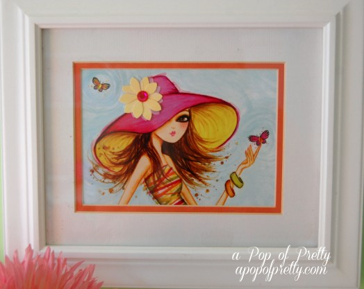 decorating with greeting card wall art