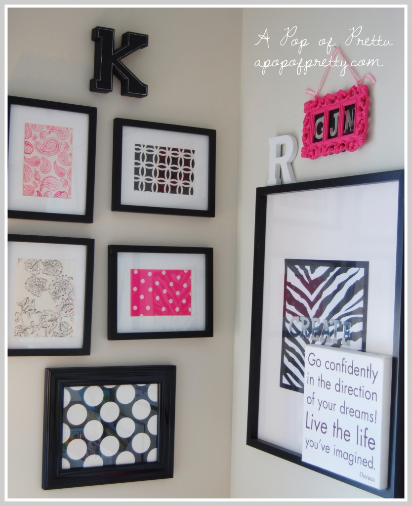 Best wall art from scrap paper and stationary