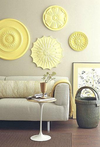Fabulous This DIY Wall Art Idea is Really uOver My Head u Idea