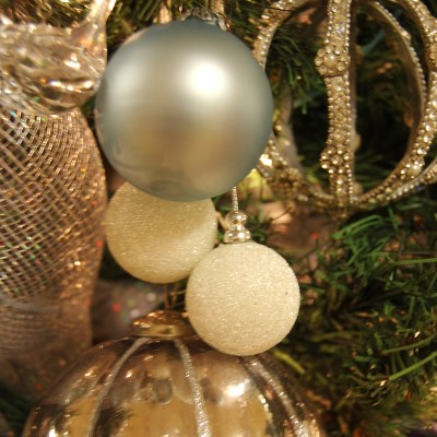 Winter Wonderland Themed Christmas Tree (School Fundraiser)