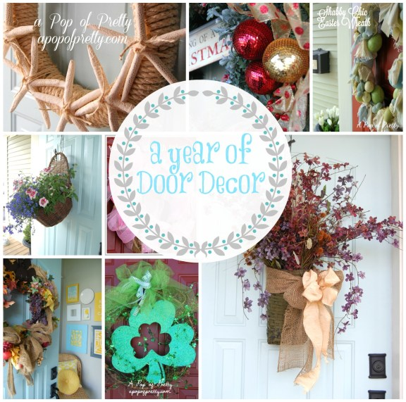 A Year Of Diy Wreaths Door Decor How To Make A Wreath