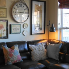 How To Get Rid Of Old Sofa Nyc Average Lifespan A Leather Beauty And The Beast Decorating With Sectional 5