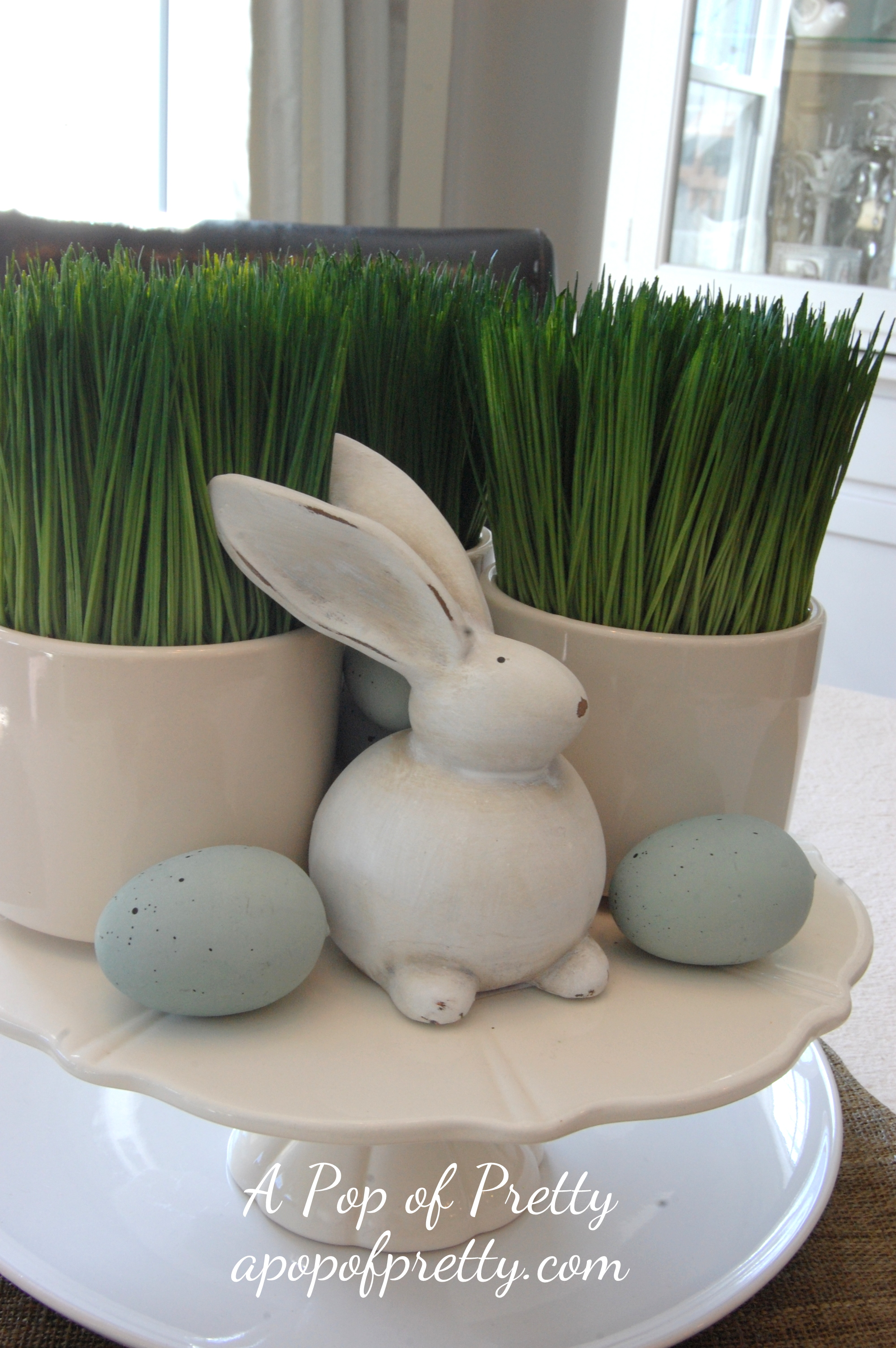 Easter Decorating Idea Pier One Bunny A Pop Of Pretty