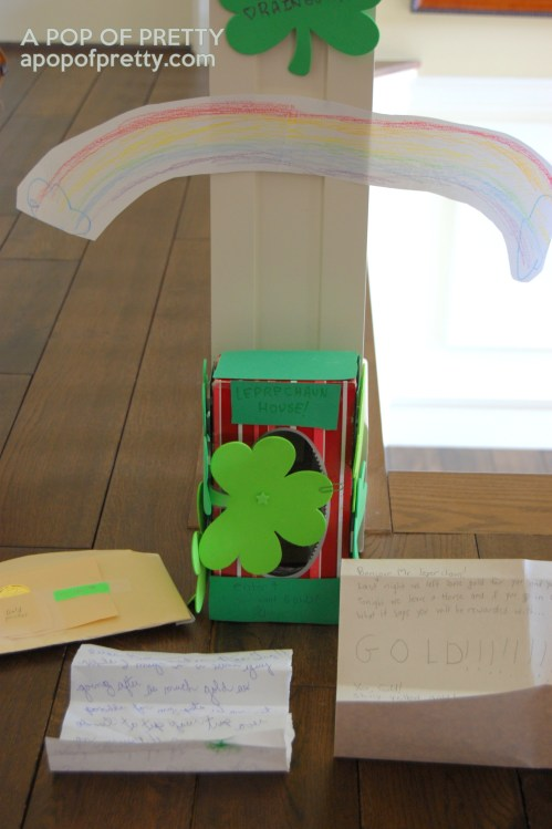 how to trap a leprechaun - St Patricks Day fun
