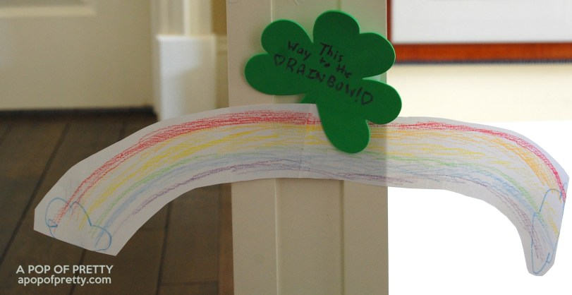 decorate a leprechaun trap