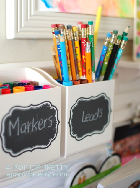 Martha Stewart art station - caddy for markers
