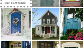 Door Color Ideas: 10 Pretty Blue Doors - A Pop of Pretty Blog ...