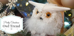 Christmas Owl Trend
